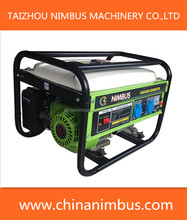 backup power genset manual start gasoline generator 2500