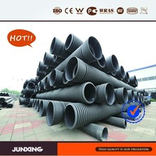 15 years factory JunXing pipe group 300mm sn4 hdpe culvert pipe
