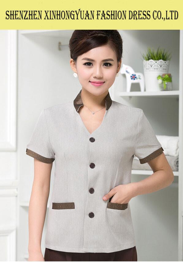 Fashion spa uniform massage uniform supplier view spa for Spa uniform alibaba
