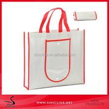foldable shopping non woven tote bag