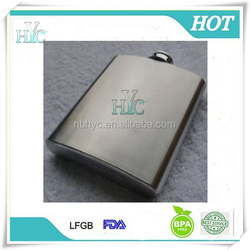 18/8 stainless steel 8oz hip flask with custom logo,Cheap Stainless Steel Liquor Flask, Stainless steel whisky flask