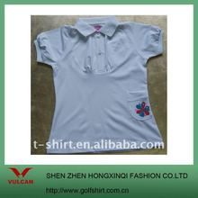 Fashion Slim Fit Women's Polo Shirt, made of Dry fit, Cool dry
