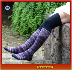 Vintage Style Extra Thick Knitted Cable Thigh High Socks/Women Knitted Leg Warmers/Colored Jacquard Boot Socks---AMY1532254