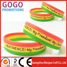 custom novelty business gifts items cheap silicone wristband, Popular cool fashion design brand name silicone wristband