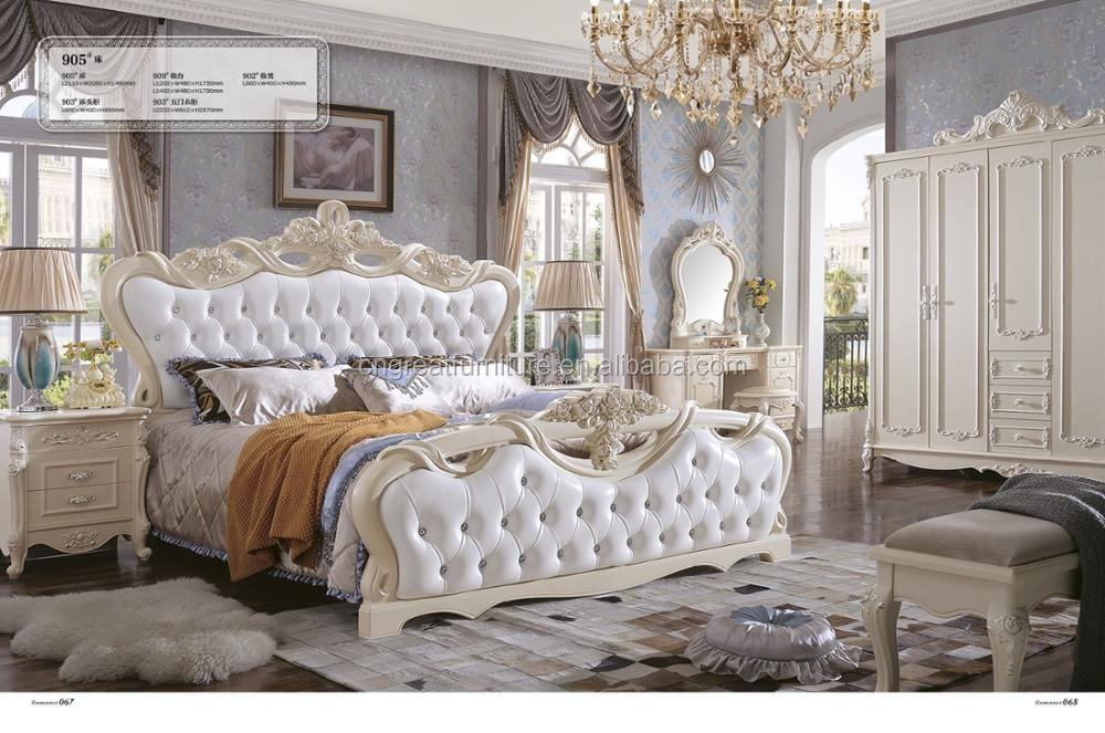 Pakistan antique fancy white vintage bedroom sets bedroom - White vintage bedroom furniture sets ...