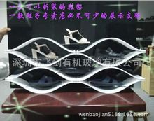 clothing and shoes display shelf, shoes display rack with the newest model,shoes shelf commercial shoe rack