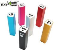 Factory price 2000/2200mAh/2600mah portable smart mobile power bank with FCC