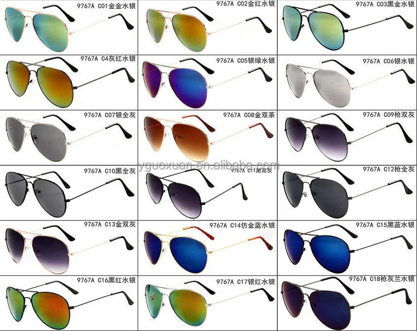 Buen precio de acrílico de la lente plásticos frame sunglasses 2015 ...