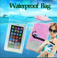 """waterproof cell phone bag for mobile phone case 3.5"""" - 6.1"""" size"""