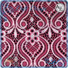 cordón de nylon diseños para vestido de fiesta