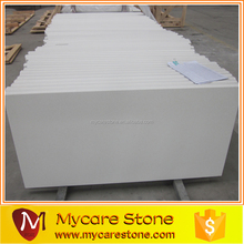 Popular pure white sparkle quartz stone countertop