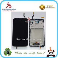 Large stock touch screen lcd flexible lcd display for LG g2 D802 32GB made in China
