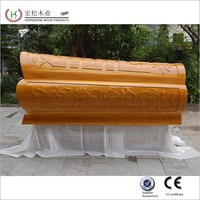 COFFIN FACTORY white wooden price coffin for wholesale
