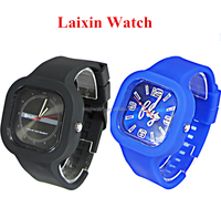 laixinwatch 2015 hot jelly branded watches for girls new design watch