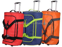 Large Cheap Fashionable Waterproof Tote Travel Bag With Wheels