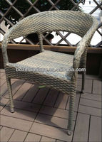 Plastic Rattan Chairs/ Patio garden Stacking Furniture