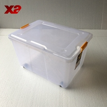 Hard plastic storage box,plastic storage container with lids