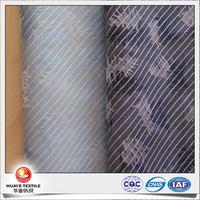 2016 new fashion 100% cotton yarn dyed floral jacquard fabric for men's fashion shirt