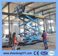 rotating platform/scissor lift platform