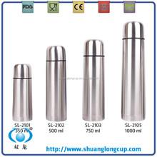 Hot sale stainless steel vacuum cups of bullet model SL-2101