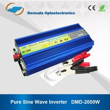 Top quality 24v 230v 2000w power inverter with solar panel 24v