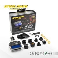 2015 Steelmate TP-03S color pressure gauge,tire pressure monitoring system motorcycle,Air filled tires