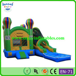 party rent balloon inflatable slides wet dry combo/ inflatable slide combo/ inflatable jumper combo