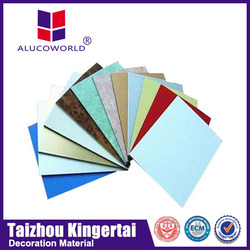 Alucoworld new and modern design wall decorative panels / composite panel / curtain design
