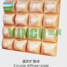Decorative material 3d wall board for Studio and other places
