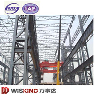 good quality new type steel structure warehouse with office
