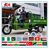 stable India 175cc closed cabin 3 wheels gas engine motrocycle with good guality