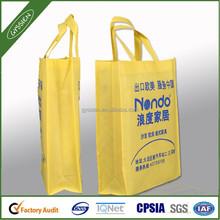Promotional non woven cotton shopping bag