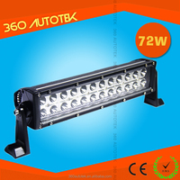 High quality wholesale cheap 13inch 72W Off Road led light bar for Car, Jeep, ATV
