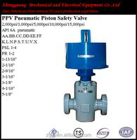 stainless steel PPV pneumatic piston safety valve price