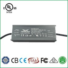 UL led driver 150w 3000mA driver IP67 PF0.92 led power supply zhongshan factory