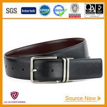 2015 reversible fashion mens genuine leather belt manufacturer