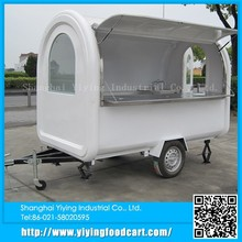 YY-FR280B alibaba china supplier convenient New Style Food Kiosk Mobile street food vans