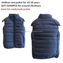 Garment stock lot / fleece jacket stock lot