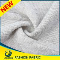 Famous Brand Latest Style Jacquard combed cotton polyester french terry fabric forknitting patterns sweater coat
