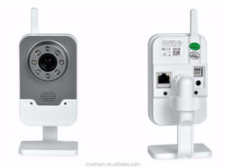 Mustcam IP Micro Camera Wireless with Night vision, Motion Detection, Two way Audio for iOS/Android