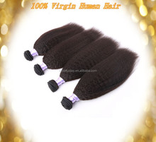 Hot Sale Factory Price Full Cuticle Brazilian Coarse Yaki Human Hair Braids