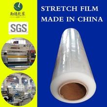 10% off biodegradable plastic film shrink/stretch film pe film rolls