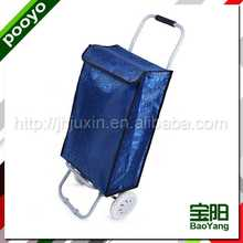 folding hand cart for promotion shopping satchel tote bag