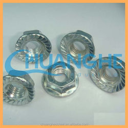 m8 hex flange nut for motorcycle