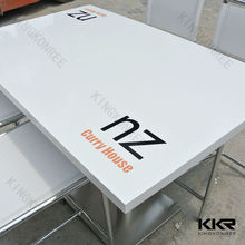 KKR Unique Commercial Logo Restaurant Used Advertising Tables