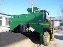 4 wheel drive Mobile compost turner machine, manure compost turner