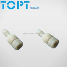 Tracheal connector for saurer/volkman twisting machine spares