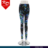 TOP quality Elegant floral print women leggings for sale