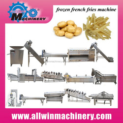 fries line french fries factory plant