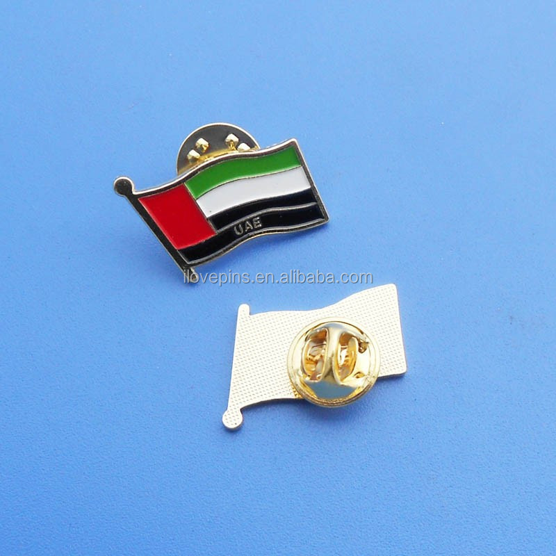Uae Flag And Emblem Uae Flag Pins/collar Badge